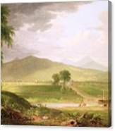 View Of Rutland - Vermont Canvas Print