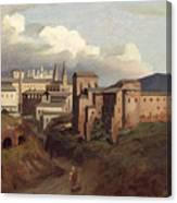 View Of Saint John Lateran Rome Canvas Print