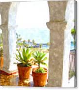View Of San Clemente Pier Canvas Print