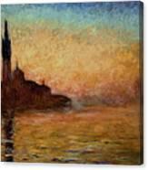 View Of San Giorgio Maggiore Canvas Print