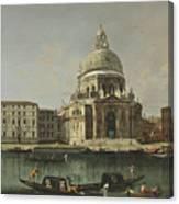 View Of Santa Maria Della Salute. Venice Canvas Print