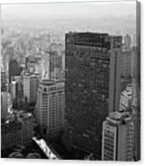 View Of Sao Paulo Canvas Print