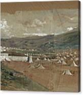 View Of Tetouan Canvas Print