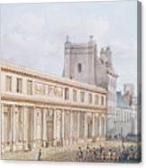 View Of The Ecole De Medecine Canvas Print