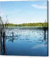 View Of The Lake Enajarvi Canvas Print