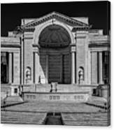 View  Of The Memorial Amphitheater At Arlington Cemetery  Canvas Print
