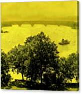 View Of The Potomac Canvas Print