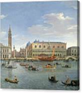 View Of Venice From The Island Of San Giorgio Canvas Print
