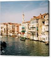 View Of Venice Canvas Print