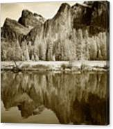 View Of Yosemite Canvas Print