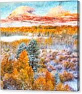 View Of Yosemite National Park Canvas Print