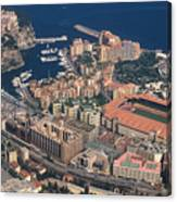 View On Monte Carlo On French Riviera Canvas Print
