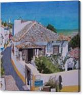 View On Obidos Canvas Print