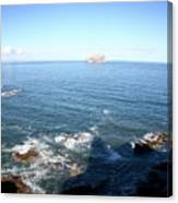 View Over Bass Rock Canvas Print