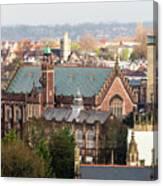 View Over Bristol With Bristol Grammar School Canvas Print