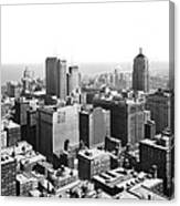 View Over Downtown Chicago Canvas Print