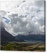 View Over Gullstein Canvas Print