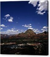 View Overlooking Sedona, Arizona Canvas Print