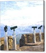 View The Columbia At The Vista House Canvas Print