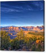 View Zion From Afar Canvas Print