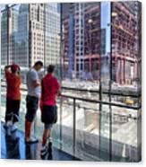 Viewing Ground Zero 2 Canvas Print