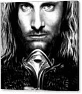 Viggo Mortensen Canvas Print