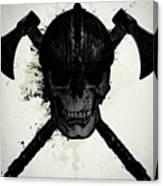 Viking Skull Canvas Print