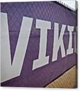 Vikings Banner Canvas Print