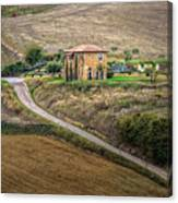 Villa In Tuscany, Italy Canvas Print