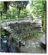 Villa Lante Garden Canvas Print