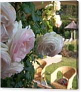 Villa Roses Canvas Print
