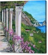 Villa San Michele In Anacapri Canvas Print