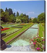 Villa Taranto Gardens,lake Maggiore,italy Canvas Print