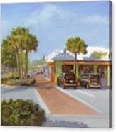 Village Cafe, Siesta Key Canvas Print