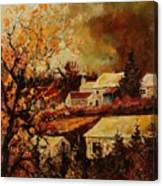 Village Curfoz Canvas Print