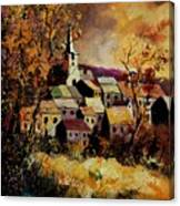 Village In Fall Canvas Print