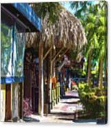 Village Life II - Siesta Key Canvas Print