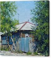 Village Line. Summer Canvas Print