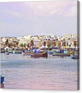 Village Of Fishermen Canvas Print