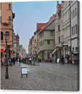 Village Stadt Canvas Print