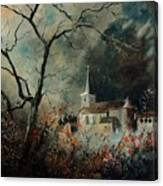 Village Vivy Canvas Print