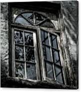Village Window Canvas Print