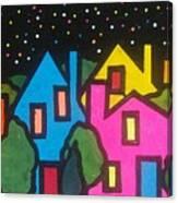 Villagescape Canvas Print