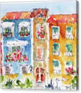 Villajoyosa Spain Canvas Print