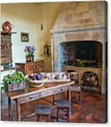 Villandry, Loire, France, Kitchen Canvas Print