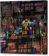 Ville Francaise Canvas Print