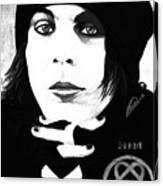 Ville Valo Portrait Canvas Print