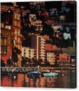 Villefranche Sur Mer Canvas Print