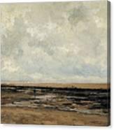 Villerville Beach Canvas Print