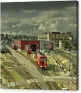 Vilnius Depot  Canvas Print